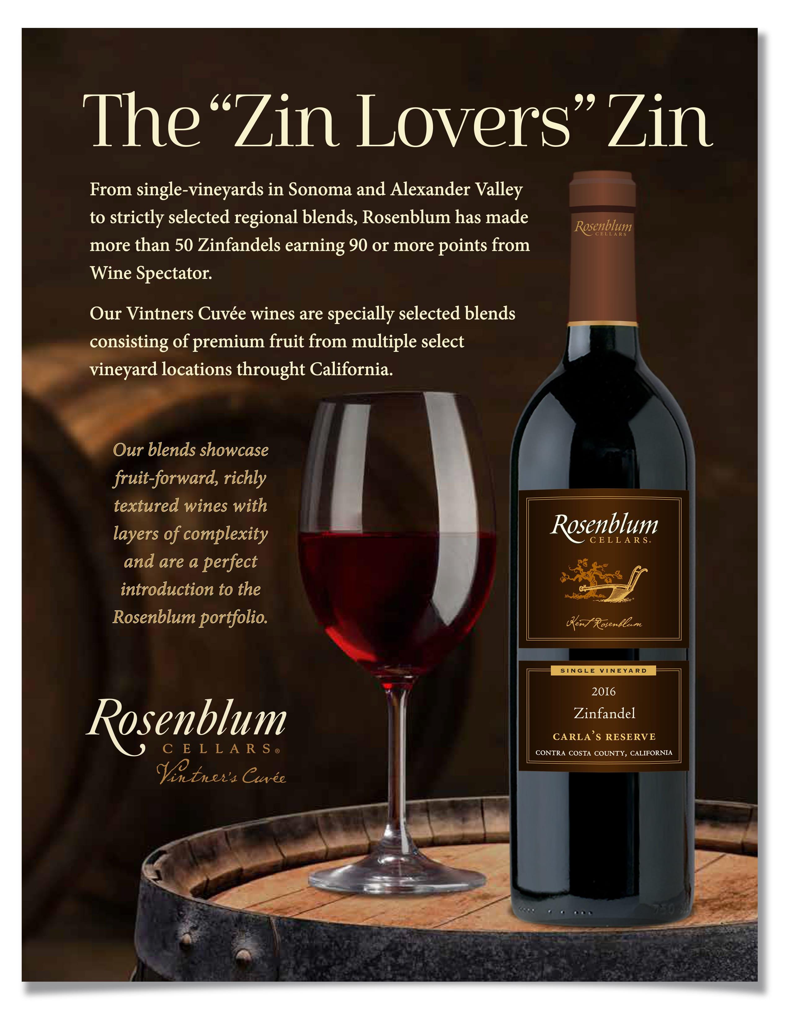 BergmanCramer | Rosenblum Wines